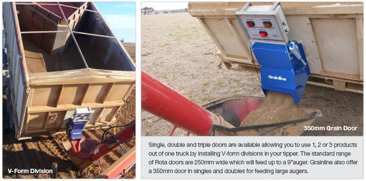 Utilise your tipper for sowing.