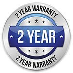 two year warranty on all augers