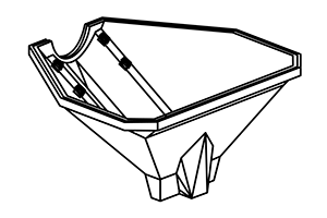 GPH-3 Triangular Hopper Deluxe