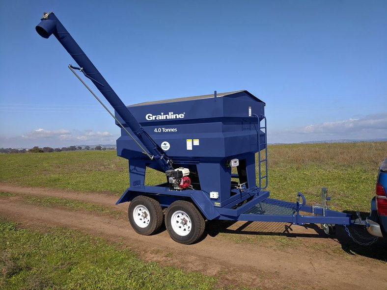 Grainline 4 Tonne Feed Out Trailer