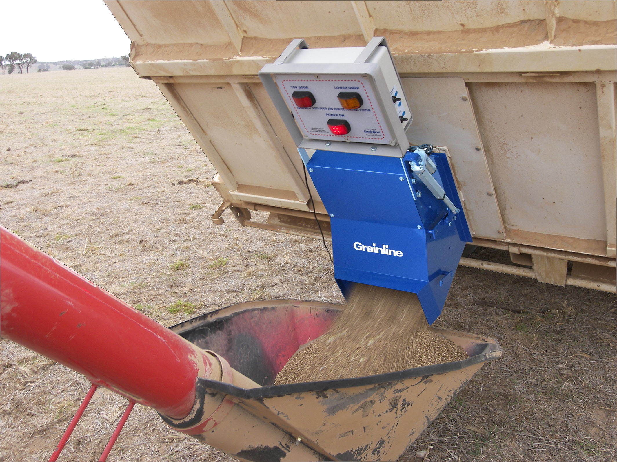 Utilise your tipper for sowing